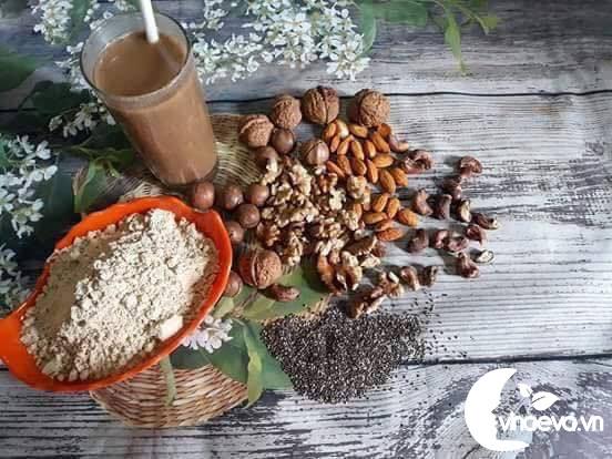 tác dụng của bột ngũ cốc tăng cân