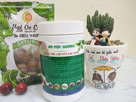 bột ngũ cốc lợi sữa An Mộc Hương