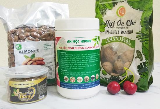 bột ngũ cốc dinh dưỡng dành cho bà bầu