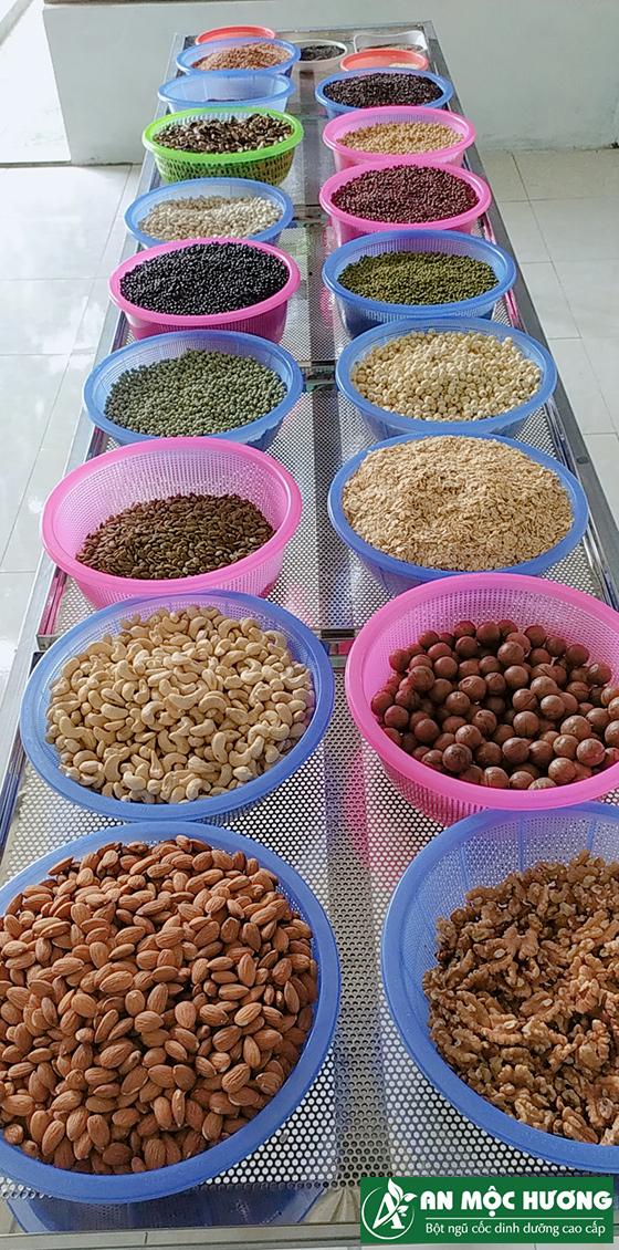 21 loại hạt sử dụng làm ngũ cốc lợi sữa An Mộc Hương