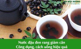 nước đậu đen rang giảm cân
